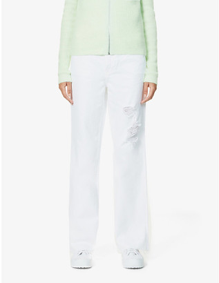 GRLFRND Dawn bootcut high-rise jeans