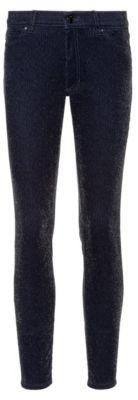 HUGO LOU skinny-fit jeans in sparkling velvet corduroy