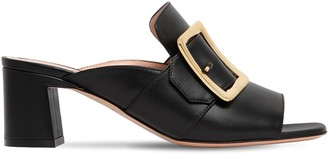 Bally 55mm Janaia 55 00 Leather Sandals
