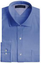 Tommy Hilfiger Men's Big & Tall Classic-Fit Non-Iron Empire Blue Dress Shirt