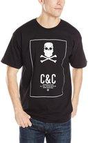 Crooks & Castles Men's Knit Crew T-Shirt-Murked