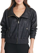 Lauren Ralph Lauren Petite Coated Fleece Jacket