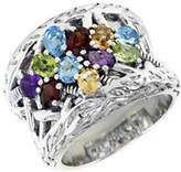 Effy Sterling Silver Multi Semi Precious Stone Ring