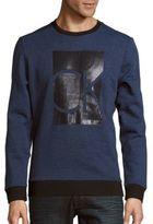Heathered Long Sleeve Sweatshirt