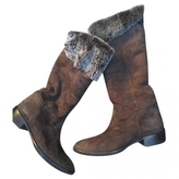 Max Mara Fur boots