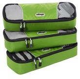 eBags Slim Packing Cubes 3pc Set - Grasshopper