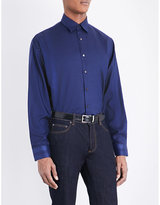 Salvatore Ferragamo Regular-fit Silk Shirt