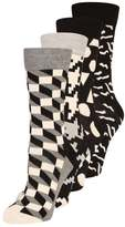 Happy Socks GIFT BOX 4 PACK Socks black