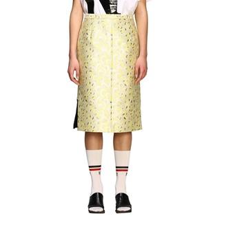 N°21 N deg; 21 Pencil Skirt In Brocade