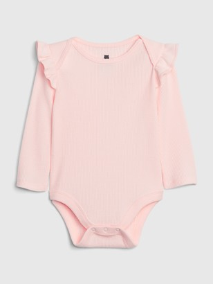 Gap Baby Mix and Match Ruffle Bodysuit