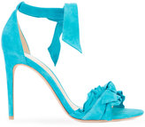 Alexandre Birman frilled tie-up sandals