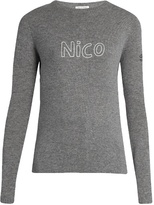 Bella Freud Nico cashmere sweater