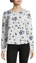 Marella Pleated Floral Blouse