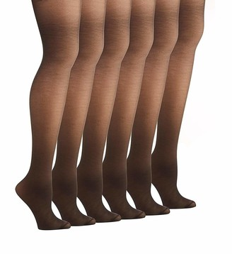 Hanes Women's Alive Control Top Pantyhose (Pack of 6)