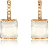 Tagliamonte Mia & Beverly Rose Quartz and Diamond 18K Gold Earrings