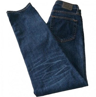 AG Adriano Goldschmied Blue Cotton - elasthane Jeans for Women