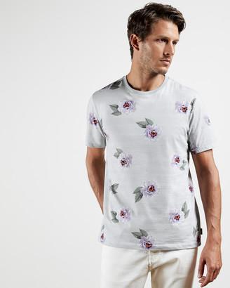 Ted Baker DANZE Floral striped T-shirt