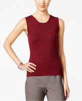 Tommy Hilfiger Ribbed Sweater Knit Tank Top