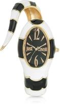 Just Cavalli Poison Jc 3H Black Stainless Steel Dial Women's Watch