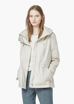 Mango Outlet Casual Hooded Parka