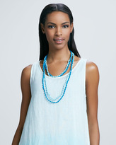 Eileen Fisher Bindu Silk Beaded Necklace