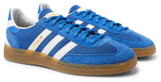 adidas Handball Spezial Suede, Mesh And Leather Sneakers