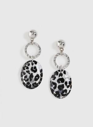 Dorothy Perkins Womens Black Gem Drop Earrings, Black