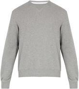 Calvin Klein Badge-appliqué cotton-jersey sweatshirt
