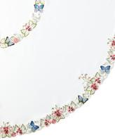 """Sferra Monarch 90"""" Round Tablecloth & 12 Napkins"""