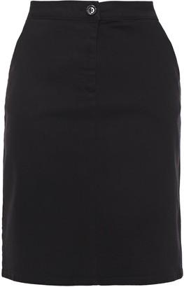 Love Moschino Crystal-embellished Denim Skirt
