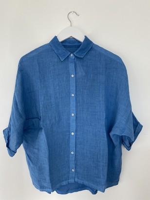 120% Lino Jersey Back Shirt 7210 B 568 S 00 - XS