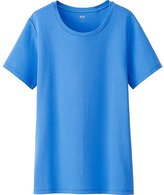 Uniqlo Women's Supima(R) Cotton Crew Neck T-Shirt