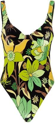 Fendi Dream Garden Swimsuit
