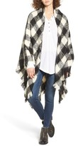 Women's Treasure&bond Buffalo Check Blanket Wrap