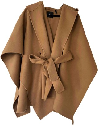 Theory Camel Cashmere Coats