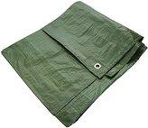 Shine Heavy Duty Tarpaulin Tarp Lightweight Waterproof Ground Sheet Cover Great Value [Green,12x8ft / 3.6x2.4]