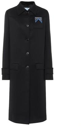 Prada Neoprene coat