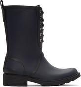 Rag & Bone Navy Ansel Rain Boots