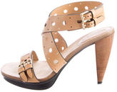 Tod's Perforated Leather Sandals