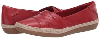 Clarks Danelly Shine (Red Leather) Women's Shoes