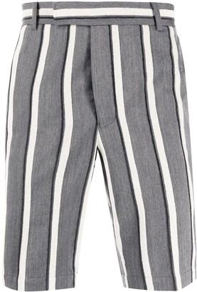 Thom Browne Striped Chino Shorts