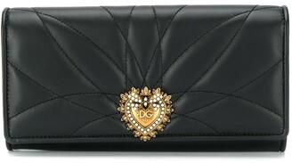 Dolce & Gabbana Devotion foldover wallet