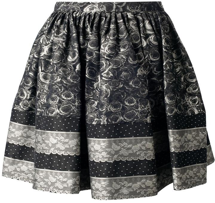 RED Valentino full printed skirt
