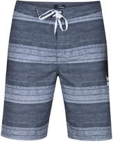"Hurley Men's Novamatic Striped 21"" Boardshorts"