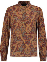 Vanessa Seward Printed Silk Blouse