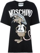Moschino Printed Rat-A-Porter t-shirt - women - Cotton - XS