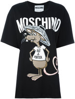 Moschino Printed Rat-A-Porter t-shirt