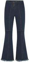 Theavant High-Rise Flared Jeans In Indigo