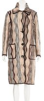 Missoni Striped Wool Coat