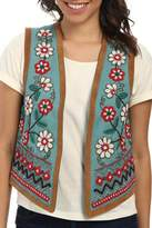Tasha Polizzi Embroidered and Beaded Vest